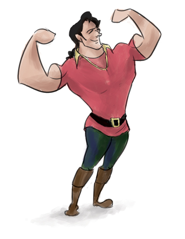Gaston-sketch